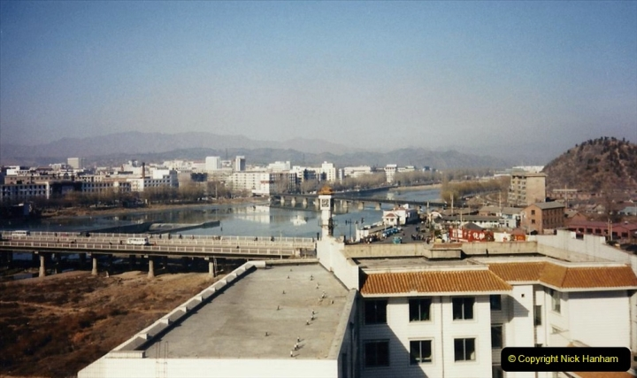 China 1997 November Number 1. (64) My Chengde Hotel and room view. 064