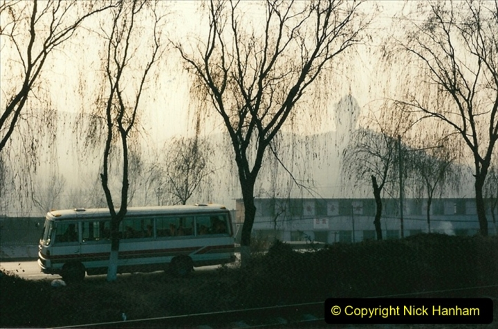 China 1997 November Number 1. (148) From the shed back to the branch for linesiding. 148