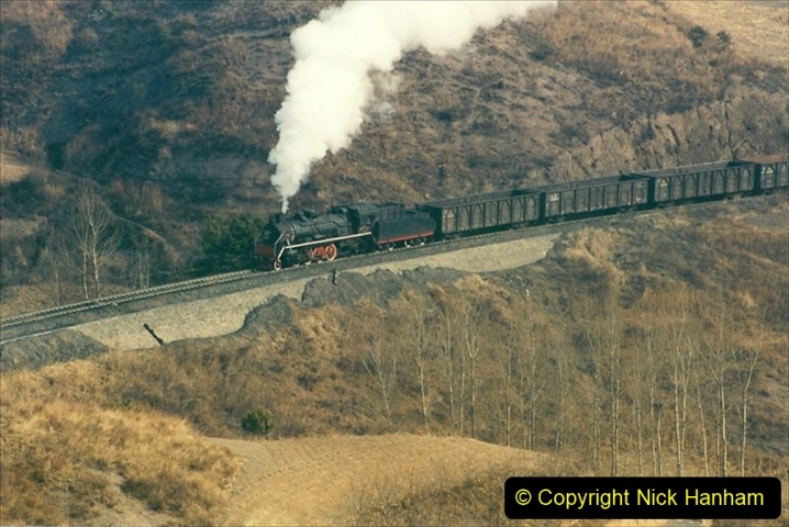 China 1997 November Number 1. (160) Linesiding on the Steel Works branch. 160