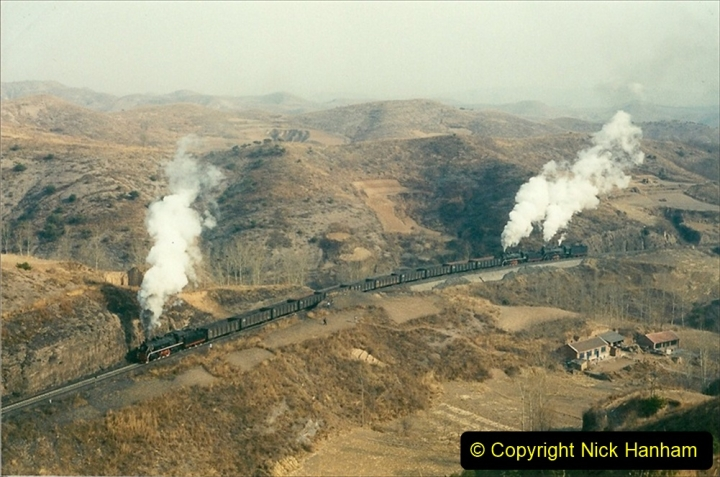 China 1997 November Number 1. (162) Linesiding on the Steel Works branch. 162