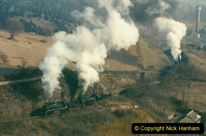 China 1997 November Number 1. (168) Linesiding on the Steel Works branch. 168