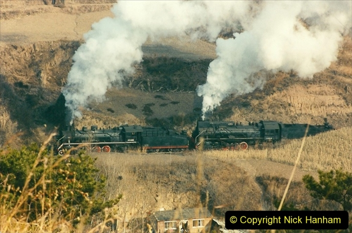 China 1997 November Number 1. (170) Linesiding on the Steel Works branch. 170
