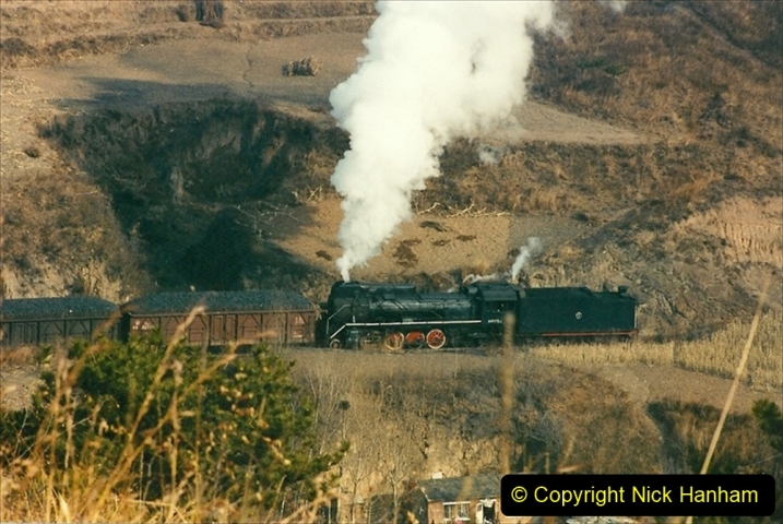 China 1997 November Number 1. (172) Linesiding on the Steel Works branch. 172