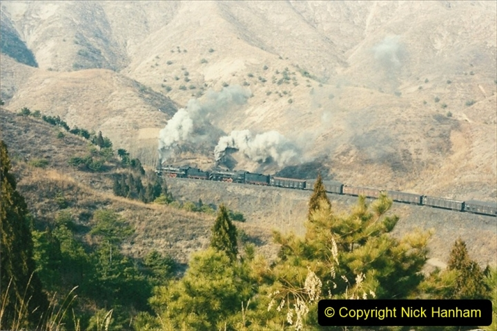 China 1997 November Number 1. (175) Linesiding on the Steel Works branch. 175