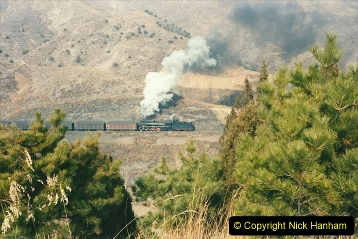 China 1997 November Number 1. (176) Linesiding on the Steel Works branch. 176