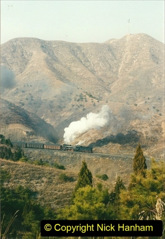 China 1997 November Number 1. (177) Linesiding on the Steel Works branch. 177