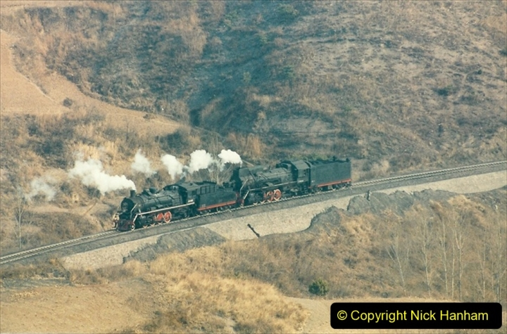 China 1997 November Number 1. (181) Linesiding on the Steel Works branch. 181