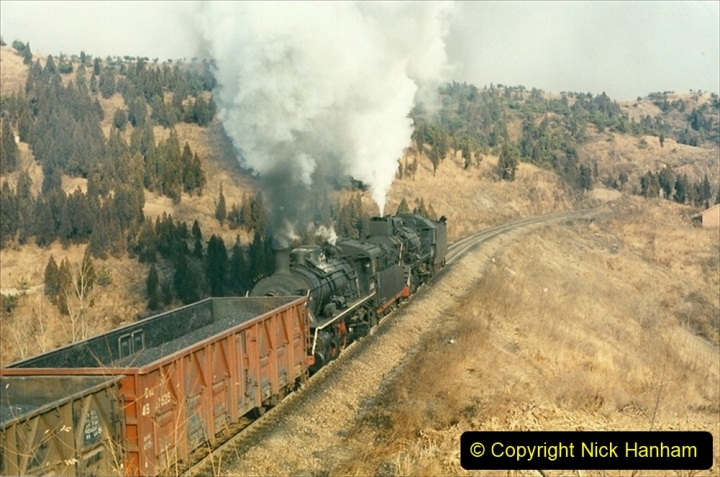 China 1997 November Number 1. (204) More branch linesiding. 204