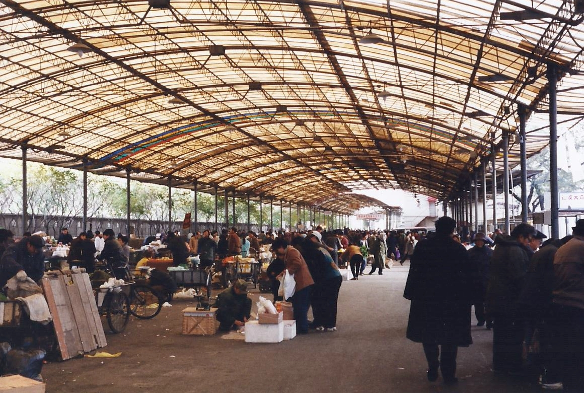 China 1999 October Number 1. (31) Harbin local market.