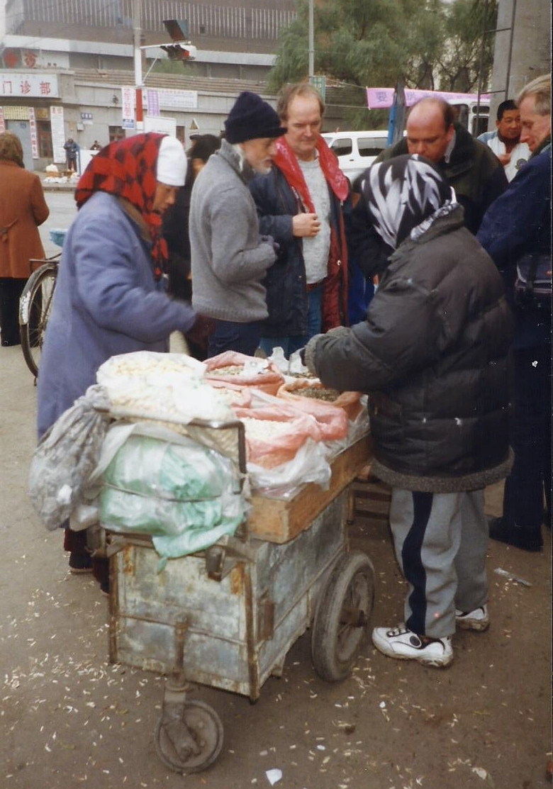 China 1999 October Number 1. (34) Harbin local market.