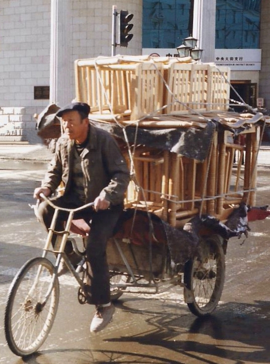 China 1999 October Number 1. (37) Harbin. I have seen this chap before. Must be a repeat load.