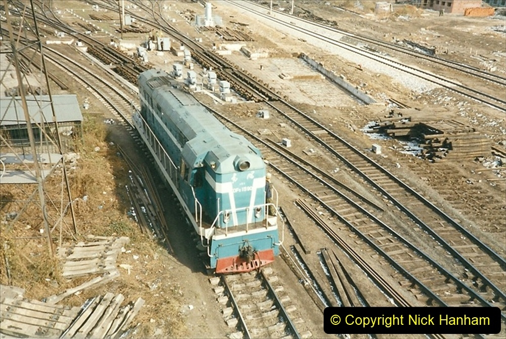 China 1999 October Number 1. (64) Harbin railways and local happenings at minus 12.