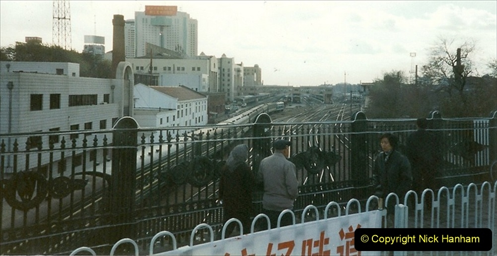 China 1999 October Number 1. (70) Harbin railways and local happenings at minus 12.