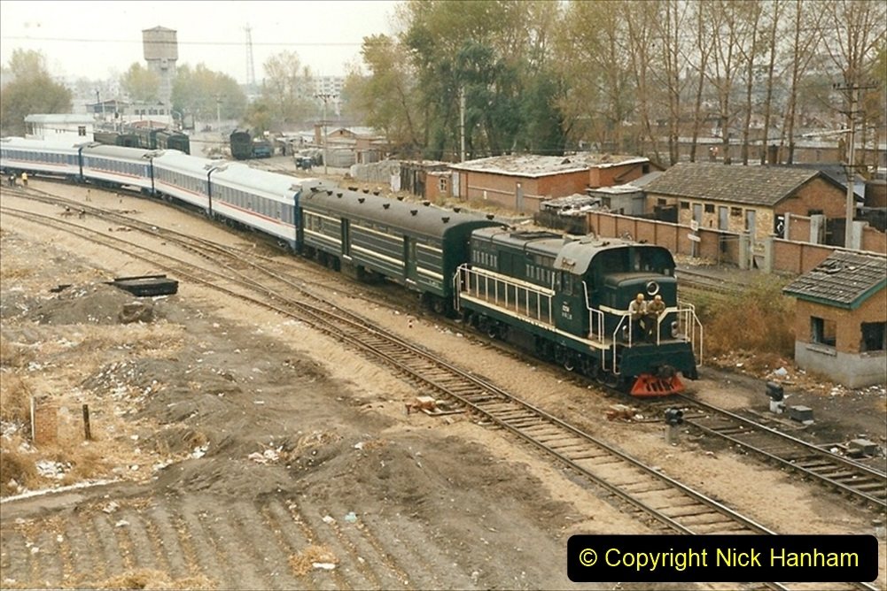 China 1999 October Number 1. (83) Harbin railways and local happenings at minus 12.