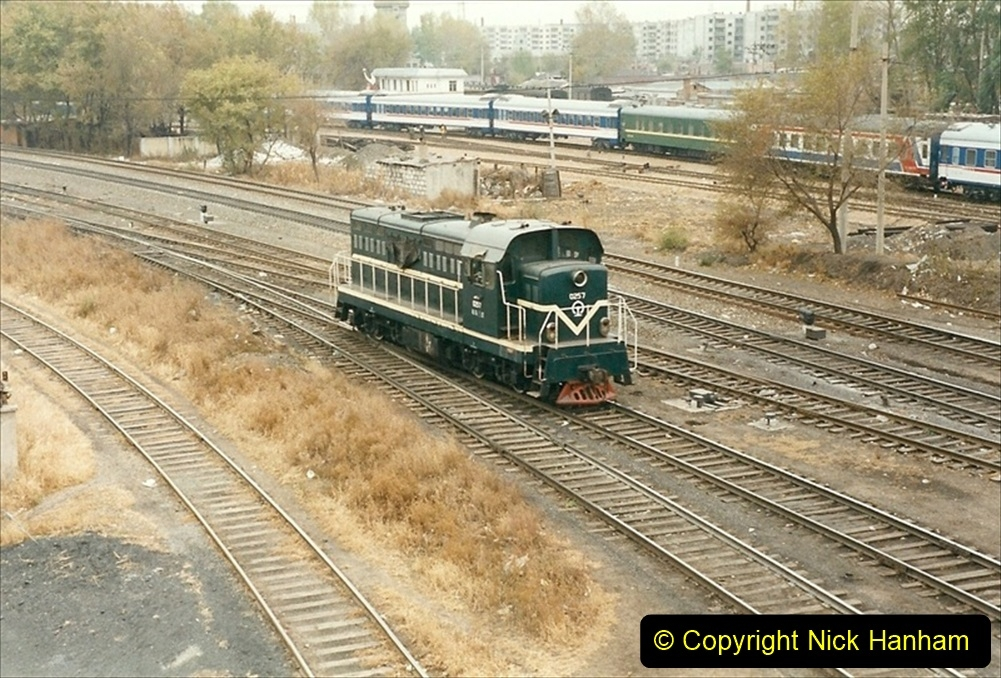 China 1999 October Number 1. (86) Harbin railways and local happenings at minus 12.