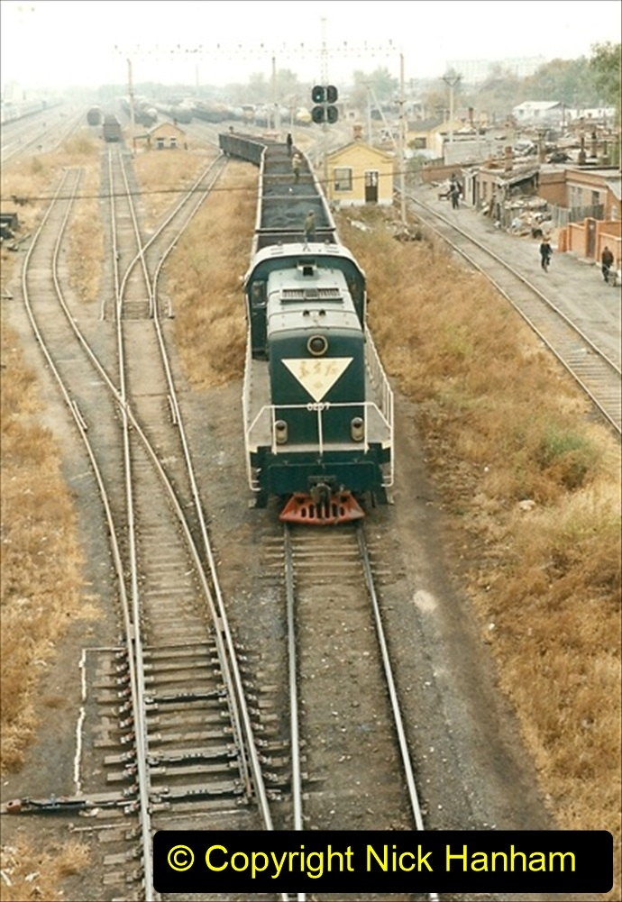 China 1999 October Number 1. (93) Harbin railways and local happenings at minus 12.