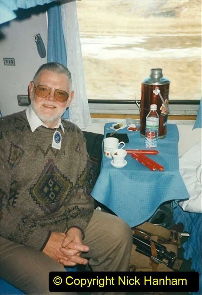 China 1999 October Number 1. (101) From Harbin to Jalainur by train.