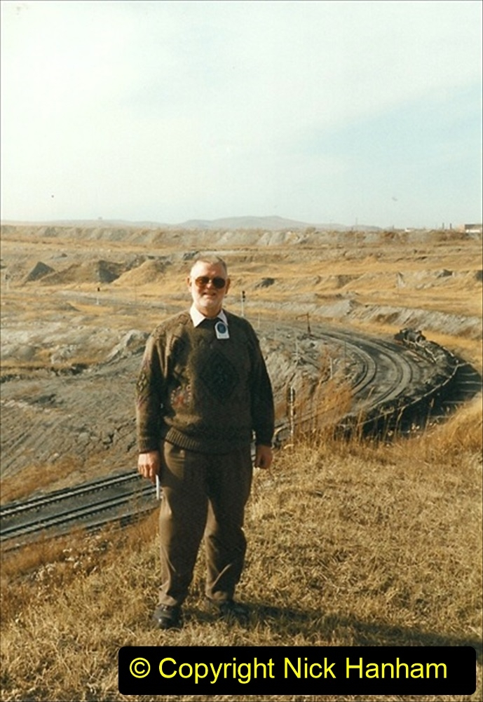 China 1999 October Number 1. (308) More mine workings. Your Host at the mine.