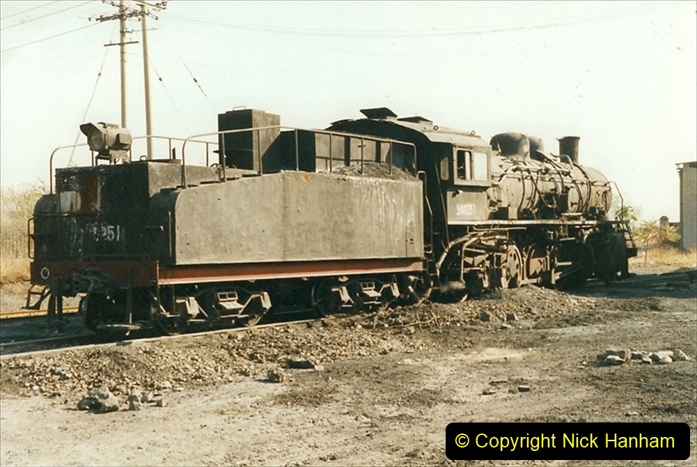 China 1999 October Number 4. (68) Loco at exchange sidings. 068