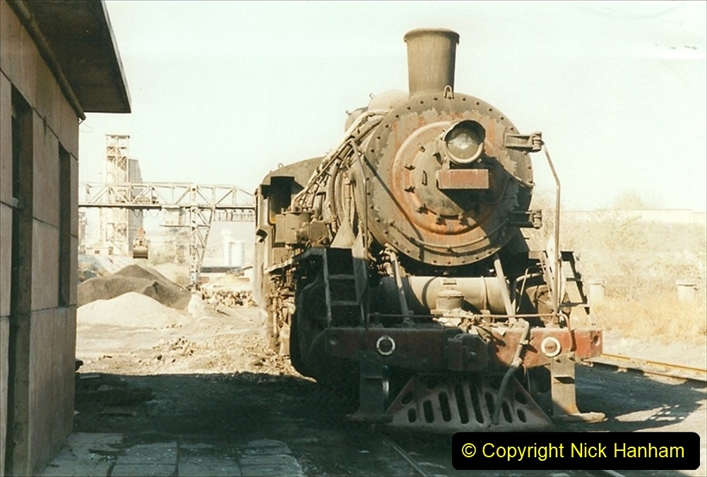 China 1999 October Number 4. (69) Loco at exchange sidings. 069
