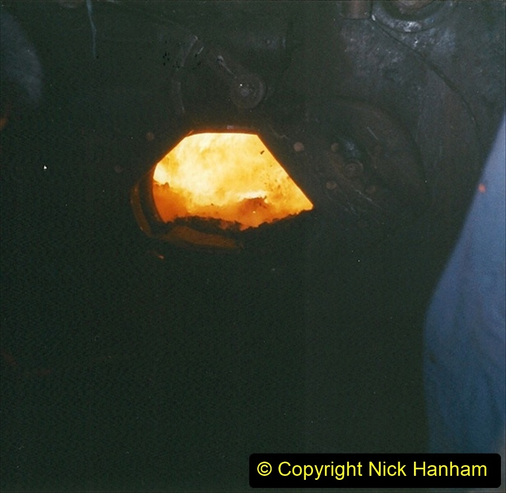 China 1999 October Number 4. (208) Tangshan Coal Mine Rail Depot. Your Host fired the SY on the way back. 208