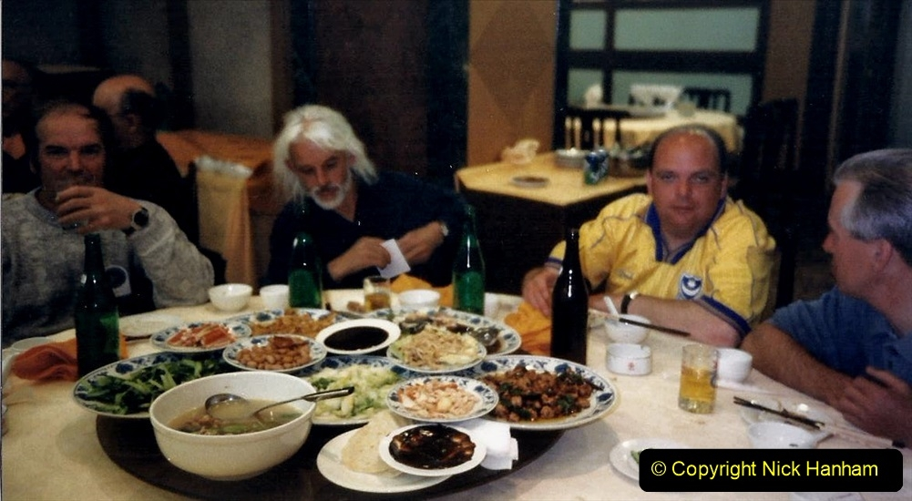 China 1999 October Number 4. (242) Farewell Dinner. 242