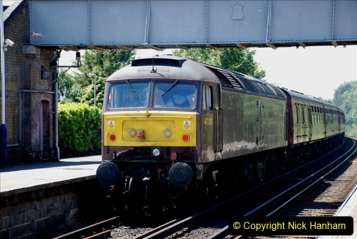2019-07-02 - 35018 British India Line at Parkstone. (7) 007