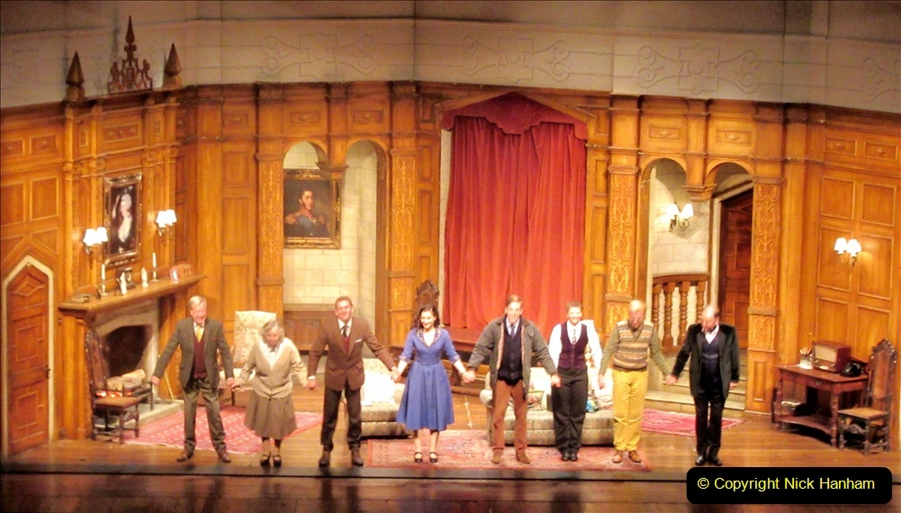 2019-08-07 The Mousetrap at Bournemouth Pavillion Theatre. (14) The play. 011