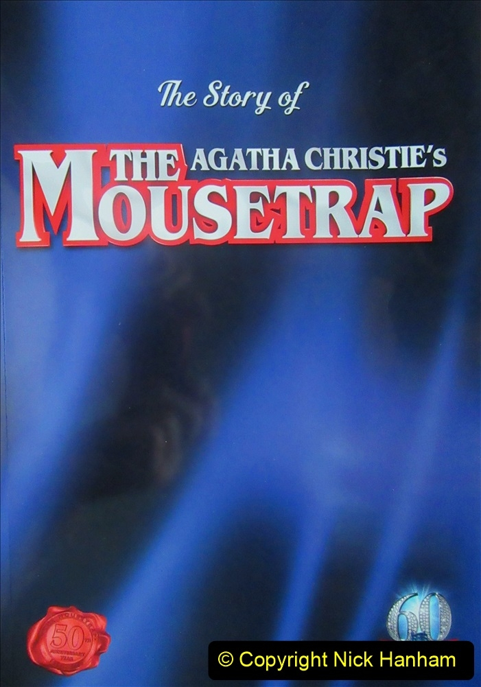 2019-08-07 The Mousetrap at Bournemouth Pavillion Theatre. (18) The 2019 tour. 018