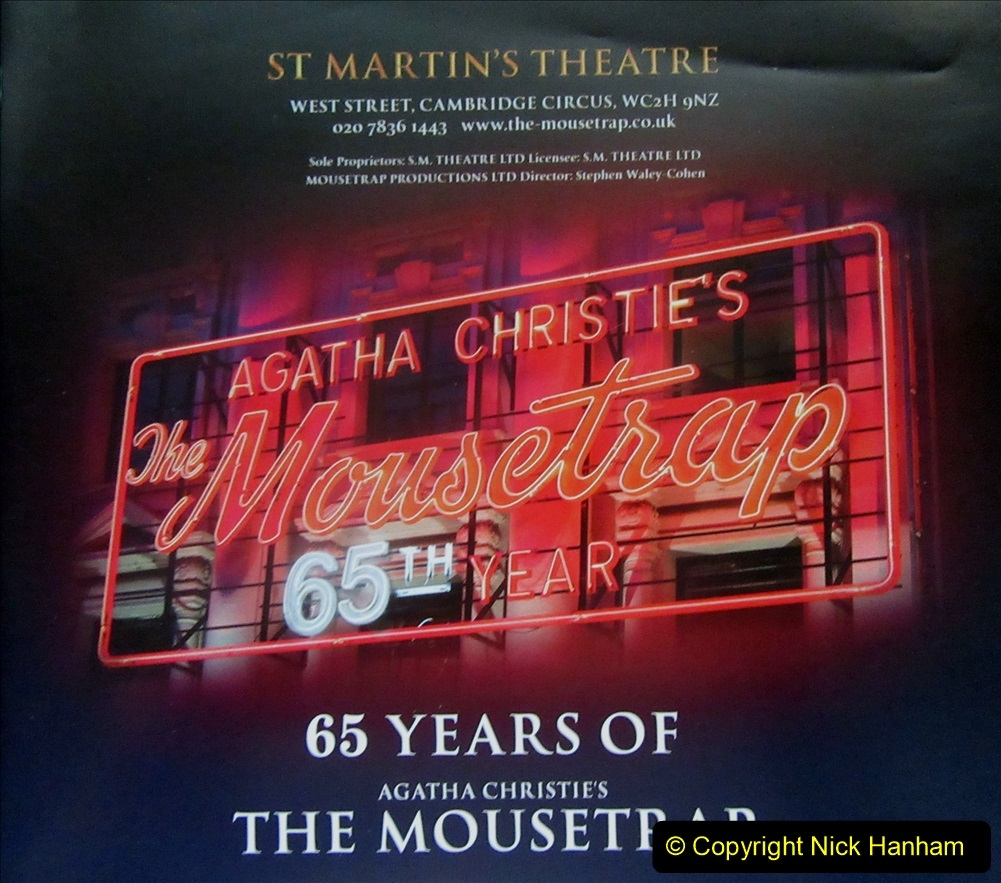 2019-08-07 The Mousetrap at Bournemouth Pavillion Theatre. (19) The 2019 tour. 018