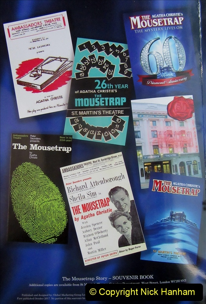 2019-08-07 The Mousetrap at Bournemouth Pavillion Theatre. (25) The 2019 tour. 018