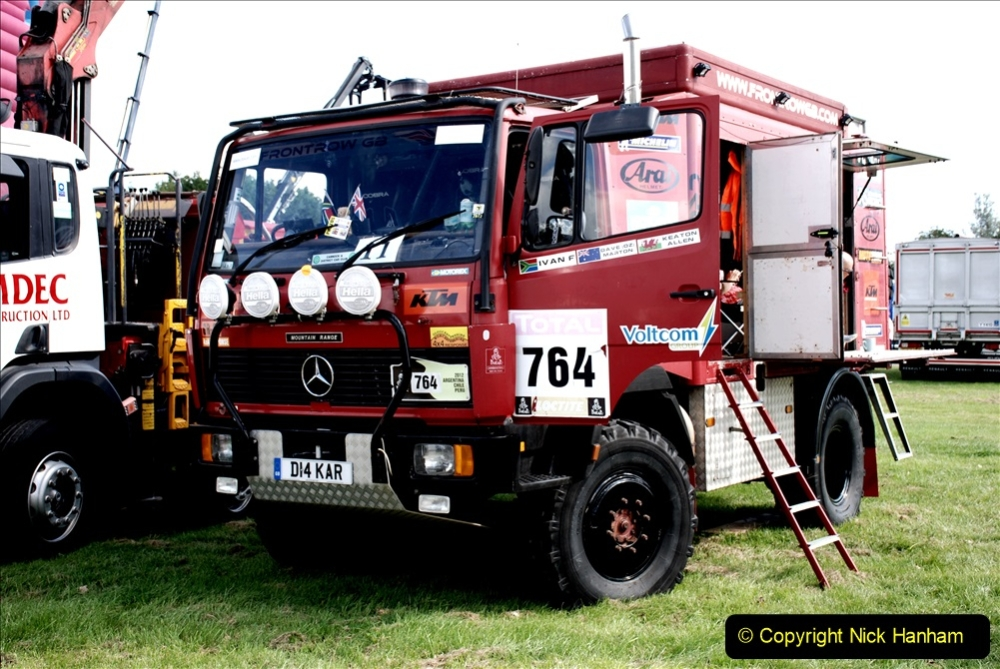 2019-09-01 Truckfest @ Shepton Mallet, Somerset. (238) Dakar race truck.238