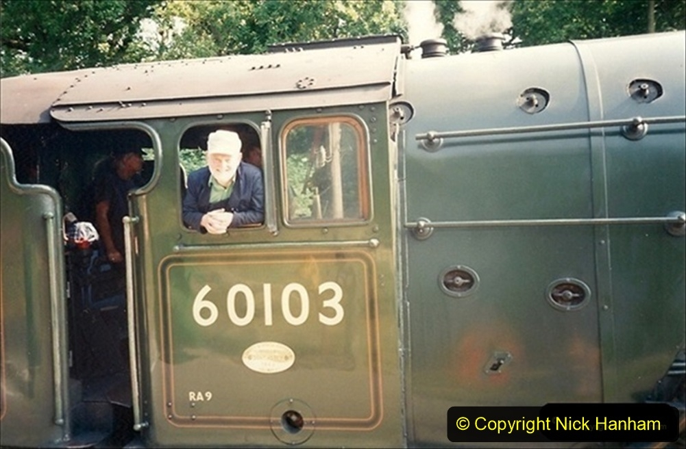 1994-07-18 to 22 Your Host spends a week driving Flying Scotsman.  (5) Your Host. 025