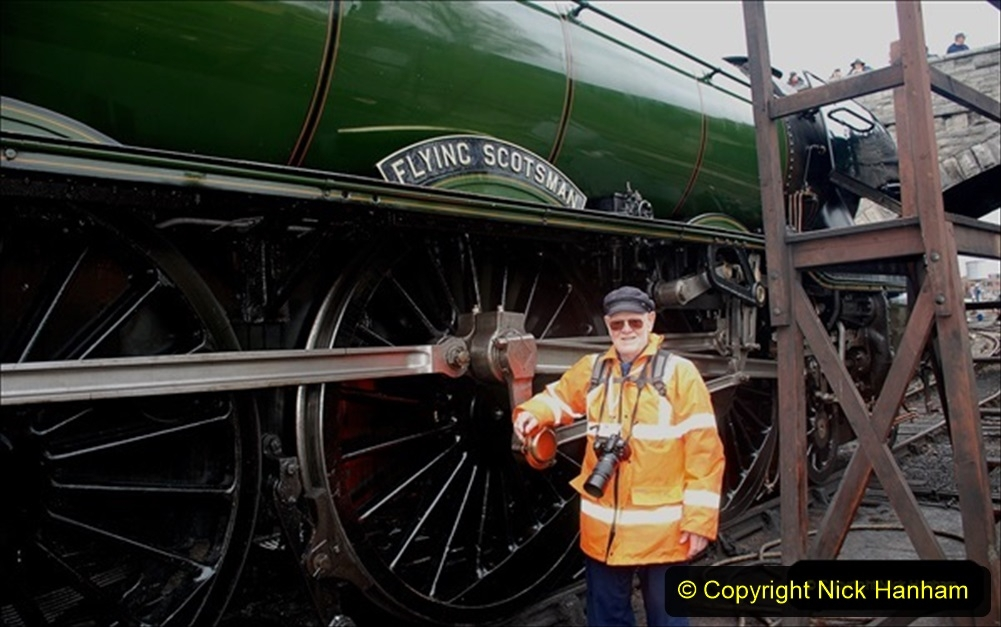 2019-03-18 to 23 Flying Scotsman returns to the SR. (3) Your Host remembering 1994. 043