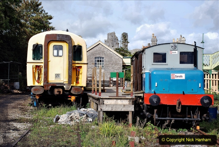 2019-10-09 Corfe Castle - Swanage - Norden. (22) 22
