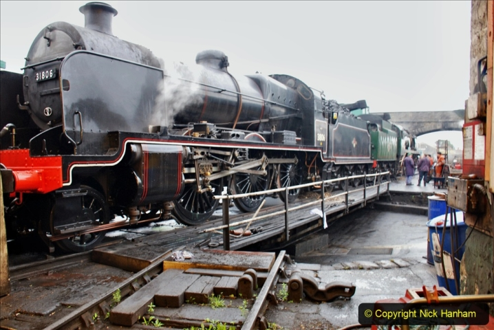2019-10-11 Six Locomotives for the SR Autumn Steam Gala. (6) 006
