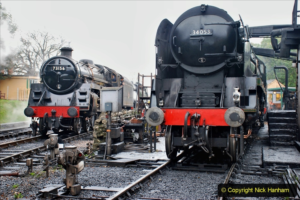 2019-10-11 Six Locomotives for the SR Autumn Steam Gala. (10) 010