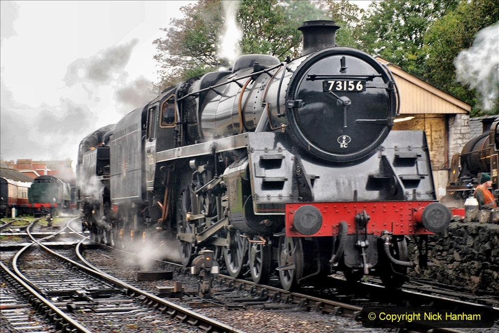 2019-10-11 Six Locomotives for the SR Autumn Steam Gala. (14) 014