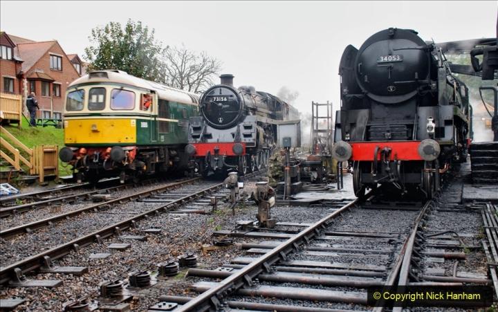2019-10-11 Six Locomotives for the SR Autumn Steam Gala. (15) 015