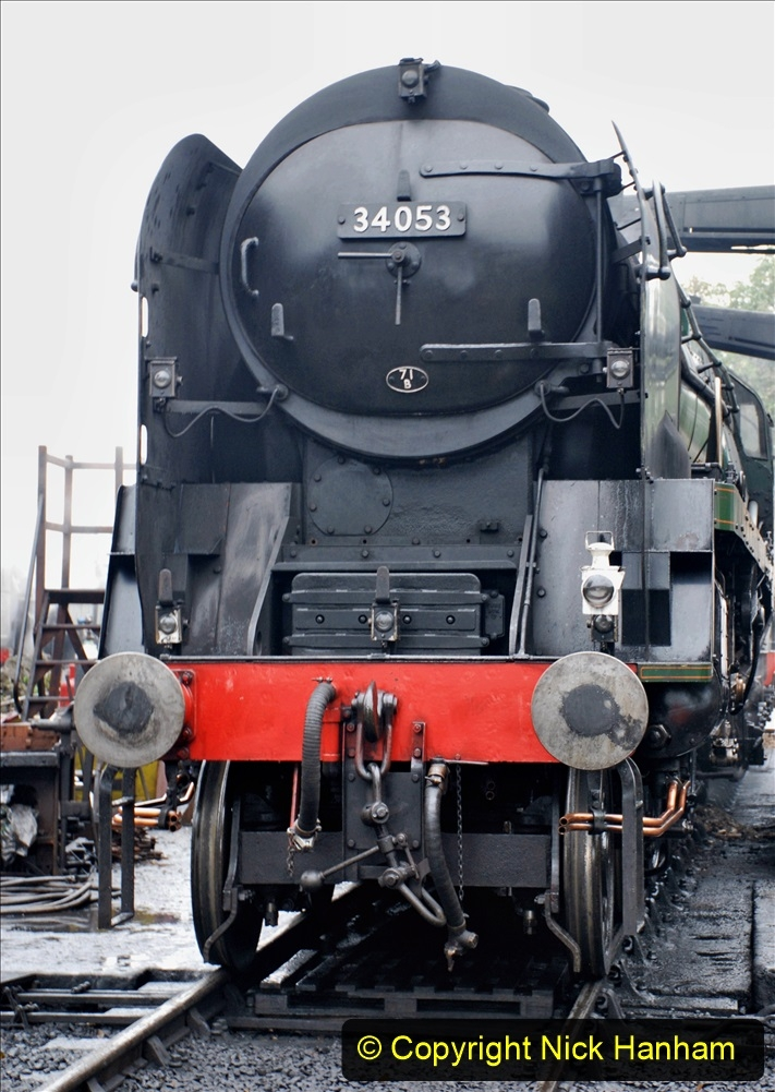 2019-10-11 Six Locomotives for the SR Autumn Steam Gala. (16) 016