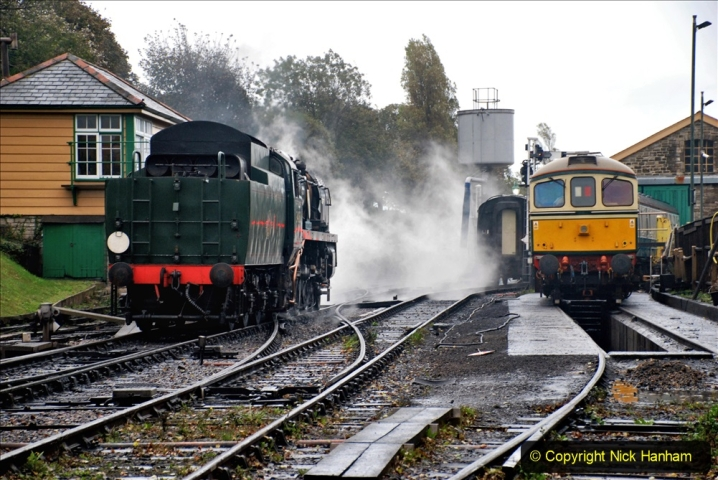 2019-10-11 Six Locomotives for the SR Autumn Steam Gala. (18) 018