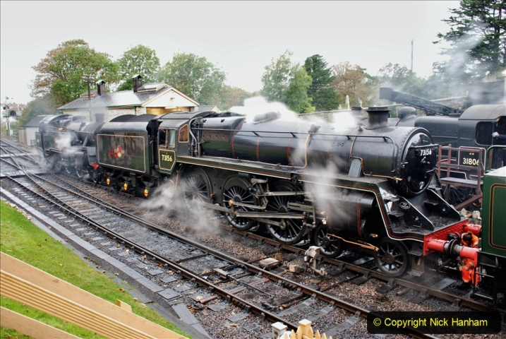2019-10-11 Six Locomotives for the SR Autumn Steam Gala. (20) 020