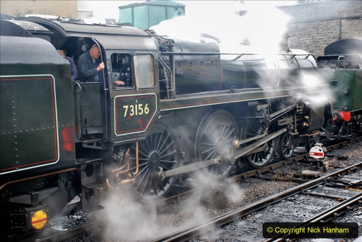 2019-10-11 Six Locomotives for the SR Autumn Steam Gala. (22) 022