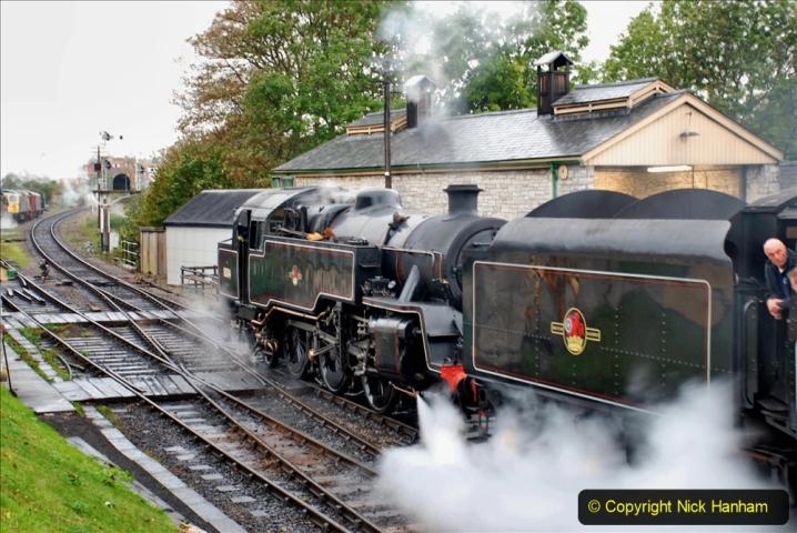 2019-10-11 Six Locomotives for the SR Autumn Steam Gala. (23) 023