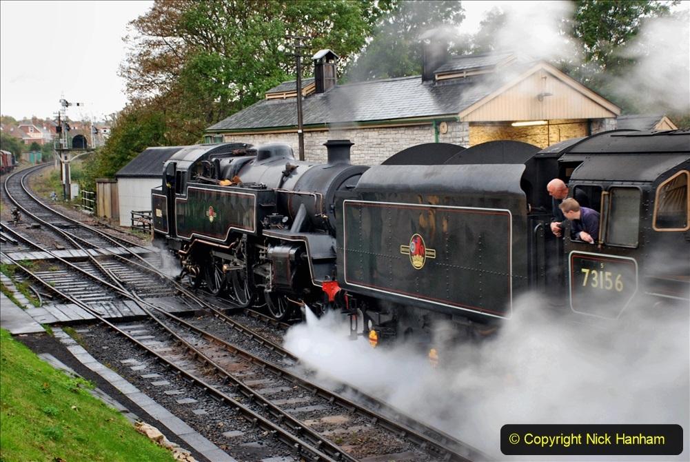 2019-10-11 Six Locomotives for the SR Autumn Steam Gala. (24) 024