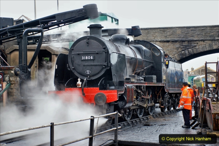 2019-10-11 Six Locomotives for the SR Autumn Steam Gala. (56) 056