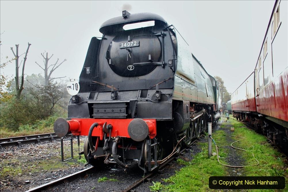 2019-10-11 Six Locomotives for the SR Autumn Steam Gala. (60) 060