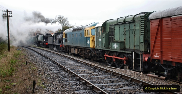 2019-10-11 Six Locomotives for the SR Autumn Steam Gala. (65) 065
