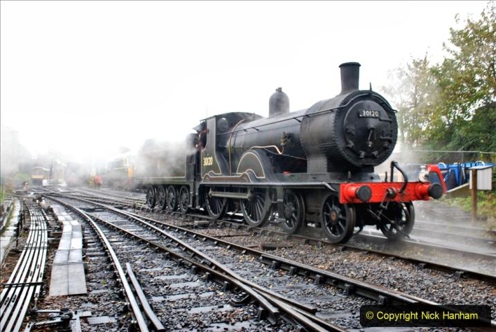 2019-10-11 Six Locomotives for the SR Autumn Steam Gala. (70) 070