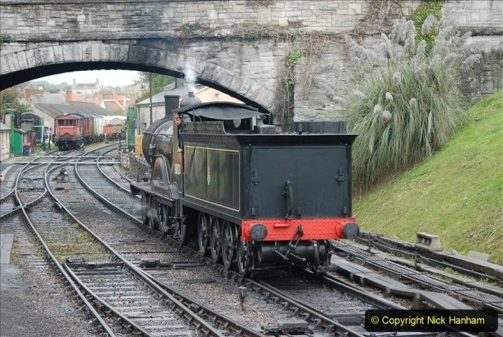 2019-10-11 Six Locomotives for the SR Autumn Steam Gala. (72) 072